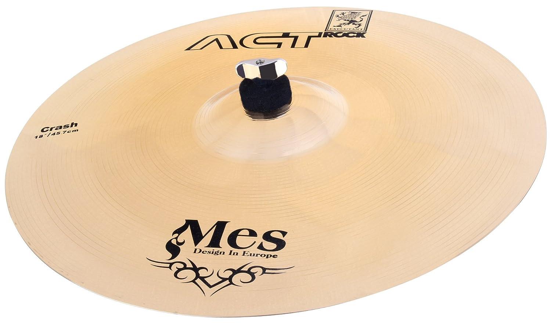 MES 18 Crash Becken für Schlagzeug (Act Series Drum Becken, Material: Bronze, gehämmert) gehämmert) 00024086 sellerccB269806