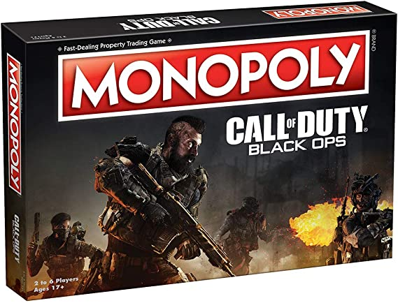 Monopoly Call of Duty Black Ops Edition Board Game - Ingles: Amazon.es: Juguetes y juegos