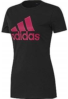 b30a1caaae0b7 adidas Originals Womens Slim Fit Trefoil Tee - 2XS/XS Black at ...