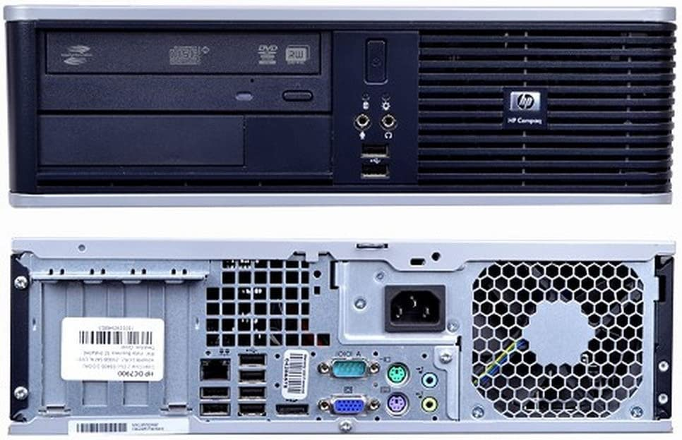 HP Compaq DC7900 SFF Desktop PC Intel Core2Duo 3.0GHz 4GB 160GB Windows 10 Professional Renewed
