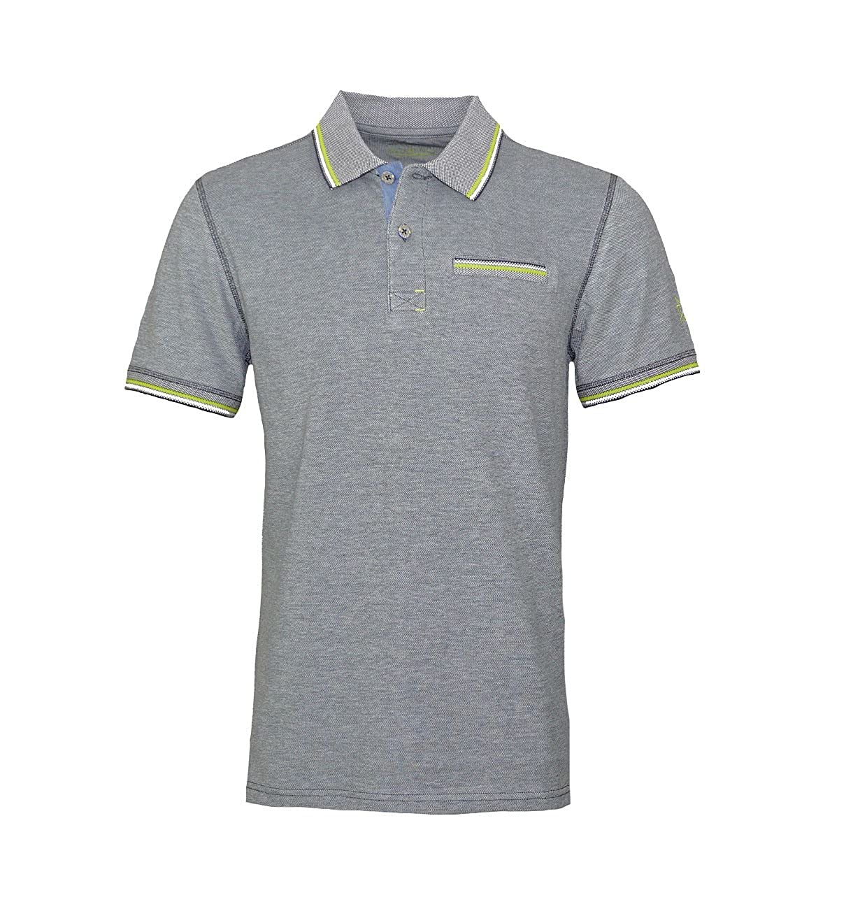 Tom Tailor Color Tipping Polo, Gris (Blue Grey 6889), XXX-Large ...