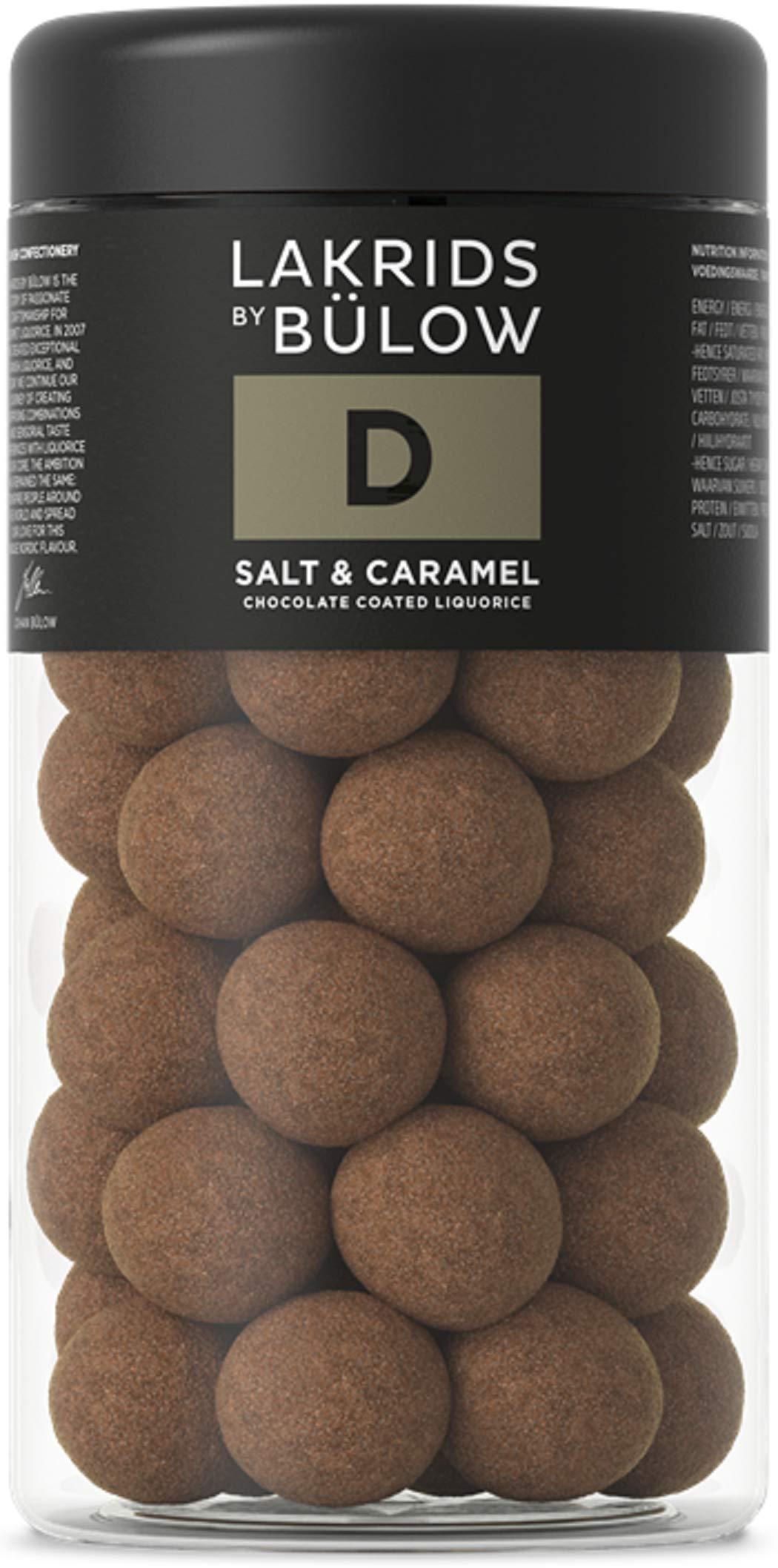 Lakrids by Johan Bülow D - Salt & Caramel Chocolate Coated Liquorice (265g) by Lakrids