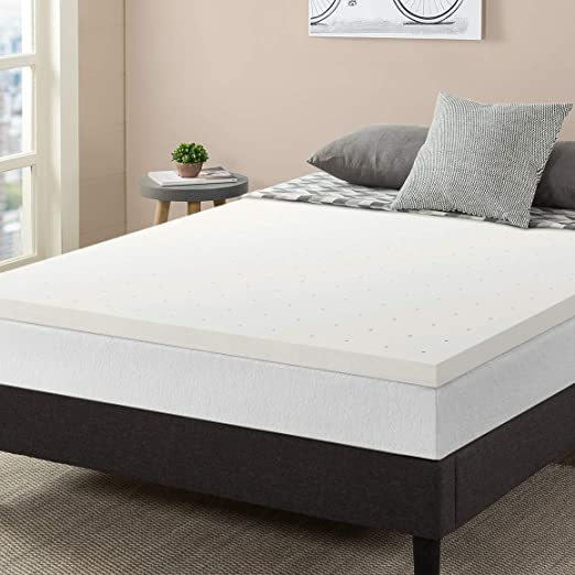 Gel Memory Foam Topper Full 2 Inch Cooling Bed Mattress Pad NEW