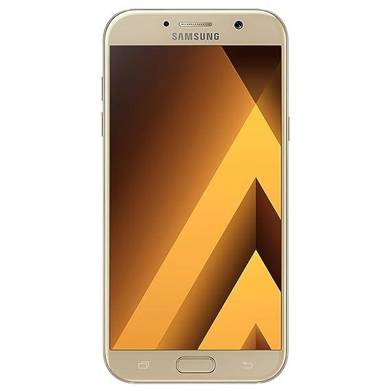 571587da79c Amazon.com: Samsung Galaxy A5 (2017) SM-A520F/DS 32GB Gold Sand, 5.2 ...