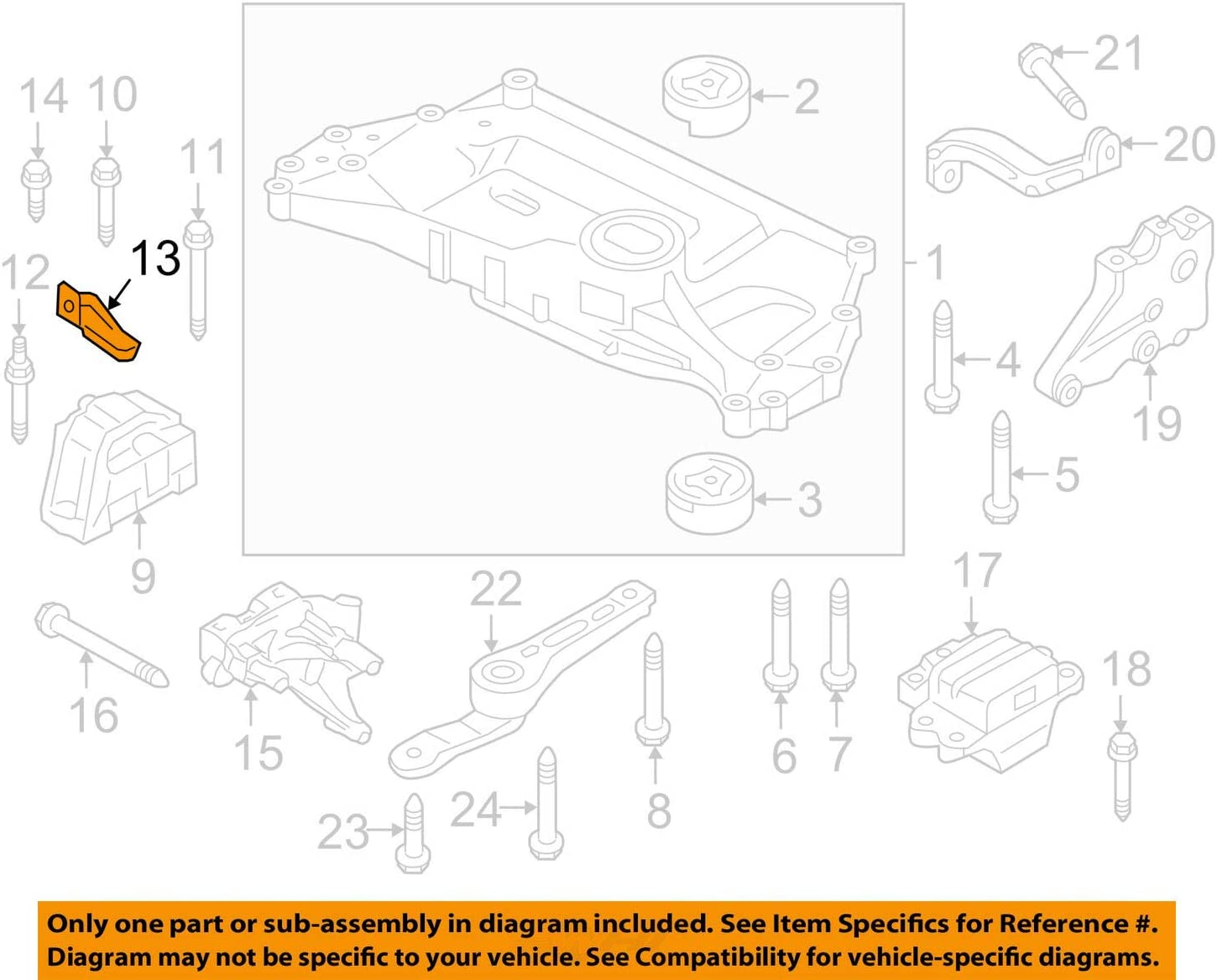 [DIAGRAM_5NL]  Amazon.com: VOLKSWAGEN\AUDI 1K0199588 GENUINE OEM MOTOR MOUNT SUPPORT:  Automotive | Vw Audi Engine Diagram |  | Amazon.com