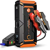 TACKLIFE T8 Pro 1200A Peak 18000mAh Water-Resistant Car Jump Starter (up to 7.5L Gas, 6L Diesel Engine) with LCD Screen, USB