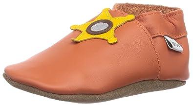 Bobux 460786 - Calzado de primeros pasos unisex, color orange, talla S