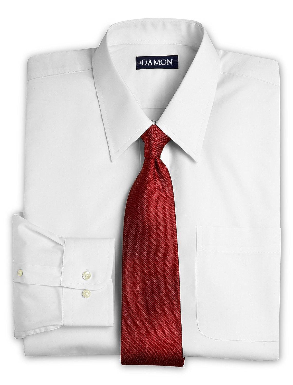 Amazon Damon Long Sleeve Ultra Poplin Dress Shirt White Clothing