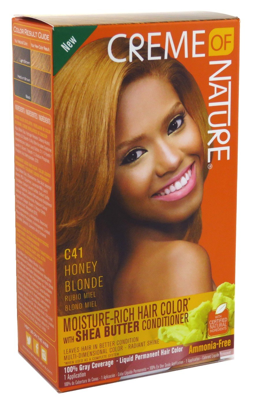 Creme Of Nature Color C41 Honey Blonde Kit (2 Pack)