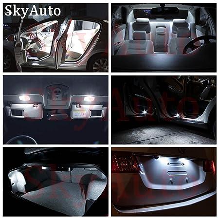 amazon com: toyota highlander 2014-2017 led premium xenon white light  interior package kit ( 15 pcs ): automotive