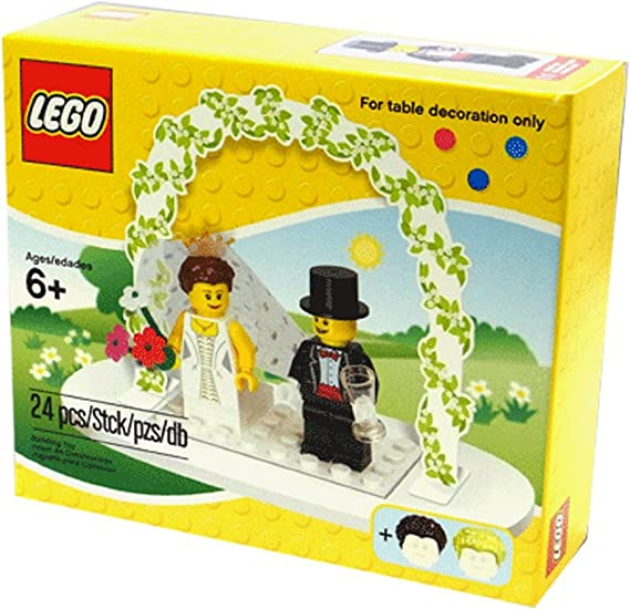"""LEGO-MINIFIGURES ACCESSORIES,RED,WHITE BUNCH OF FLOWERS FOR A BRIDE FIGURE/""""READ/"""""""
