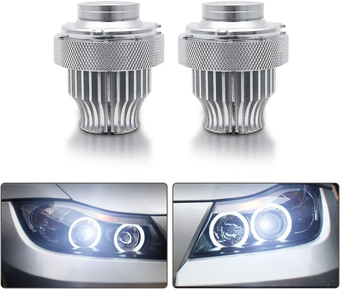 Fits BMW 3 Series E90 H7 501 55w Super White Xenon Low//LED Trade Side Bulbs Set