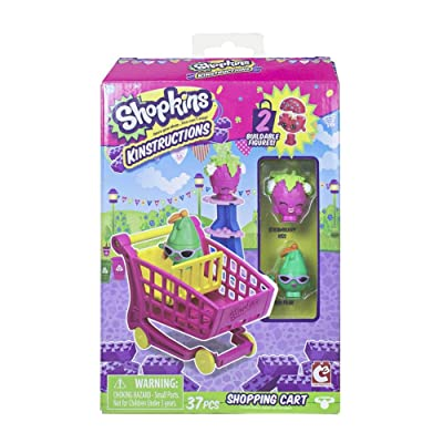 The Bridge Direct Shopkins Kinstructions Shopping Cart Style 1: Toys & Games