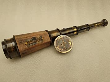 18 inch Brass Spyglass Telescopes Nautical Collectibles by Authentic Instruments INC AUTHENTIC INSTRUMENTS INC.