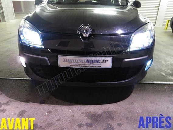 Bombillas LEDs antibrouillards para Renault Megane 3: Amazon.es: Coche y moto