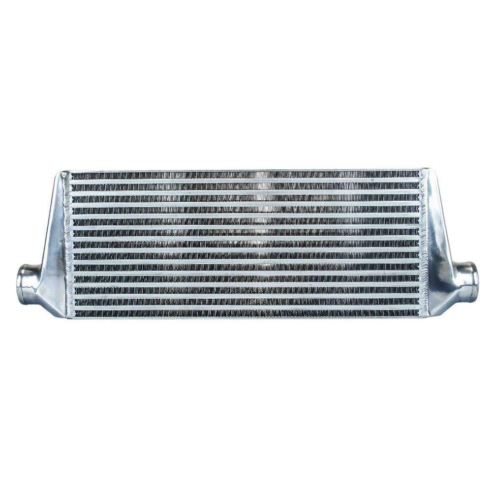 Vogvigo - 550 * 230 * 65mm Universal Turbo intercooler bar et plaque OD = 2, 5' Support Avant universel Refroidisseur intermé diaire/ Radiateur d' air de suralimentation INTERCOOLER/ Universel pour é changeur thermique intermé diaire W