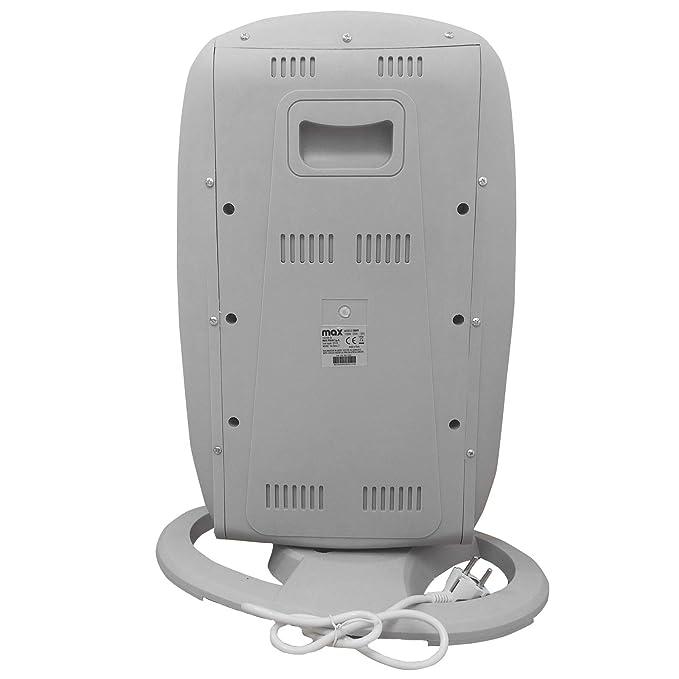 Estufa eléctrica halógena 3 elementos infrarrojos 400 W 800 W 1200 W Calefacción: Amazon.es: Hogar