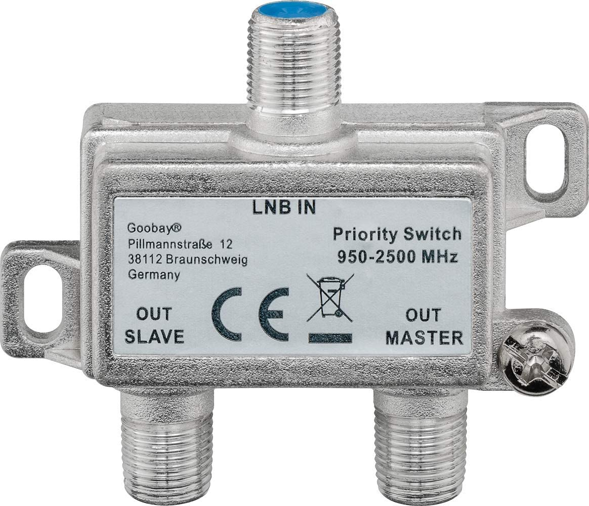Goobay 51445 Sat Schalter Verteilt Elektronik
