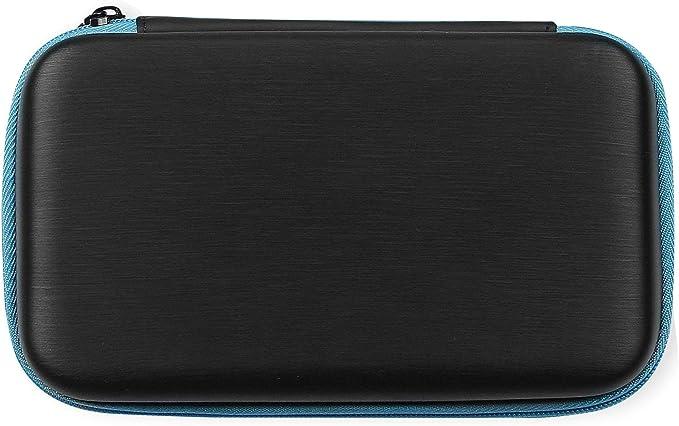 AmazonBasics - Funda de transporte para Nintendo 2DS XL con 3 lápices capacitivos y 2 protectores de pantalla - Negro: Amazon.es: Videojuegos
