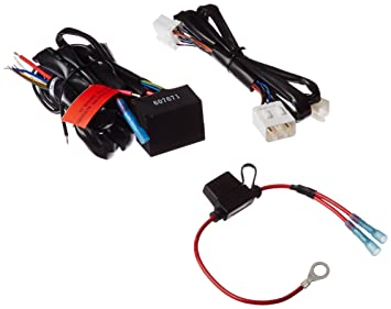 71DS9ycMD9L._SX355_ amazon com kuryakyn 7672 plug & play trailer wiring relay harness plug and play wiring harness at bayanpartner.co