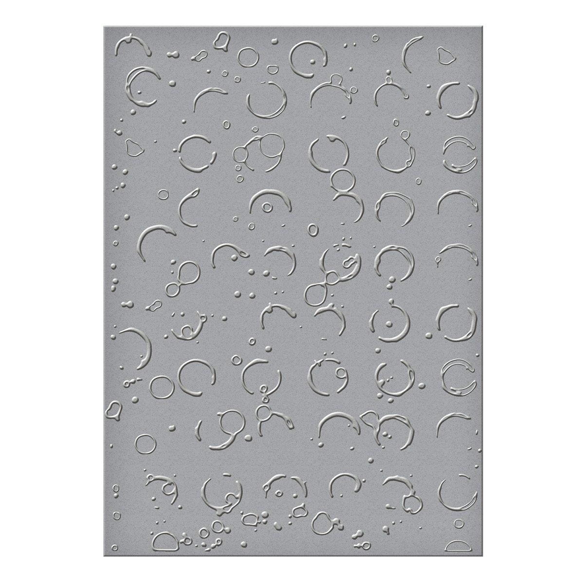 Spellbinders-Fustella per goffratura grande imbrattata di cerchi, in acrilico,, 3 pezzi SEL-011