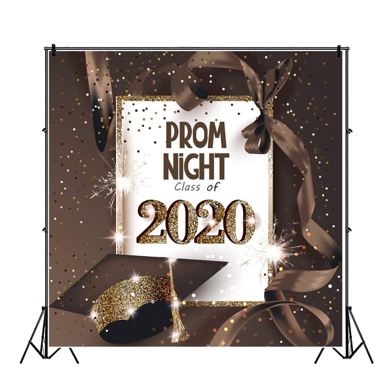 Graduation Background 2020.Amazon Com Leyiyi 5x5ft Prom Night Class Of 2020