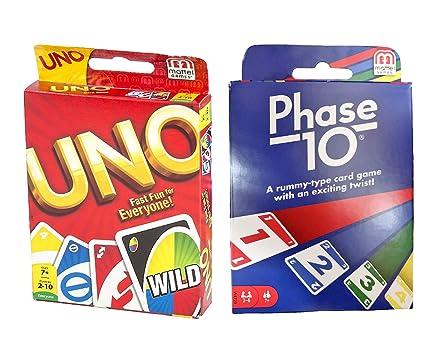 Amazon.com: maven Regalos: Fase 10 Juego de cartas con uno ...