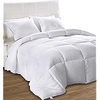 Down Alternative Comforter - All Season Comforter - Plush Siliconized Fiberfill Duvet Insert - Box Stitched- by Utopia Bedding
