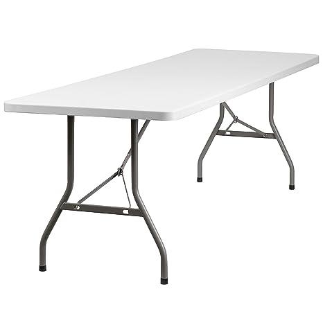 Amazon.com: Mesa plegable moldeada, MetalPlástico/Resina ...