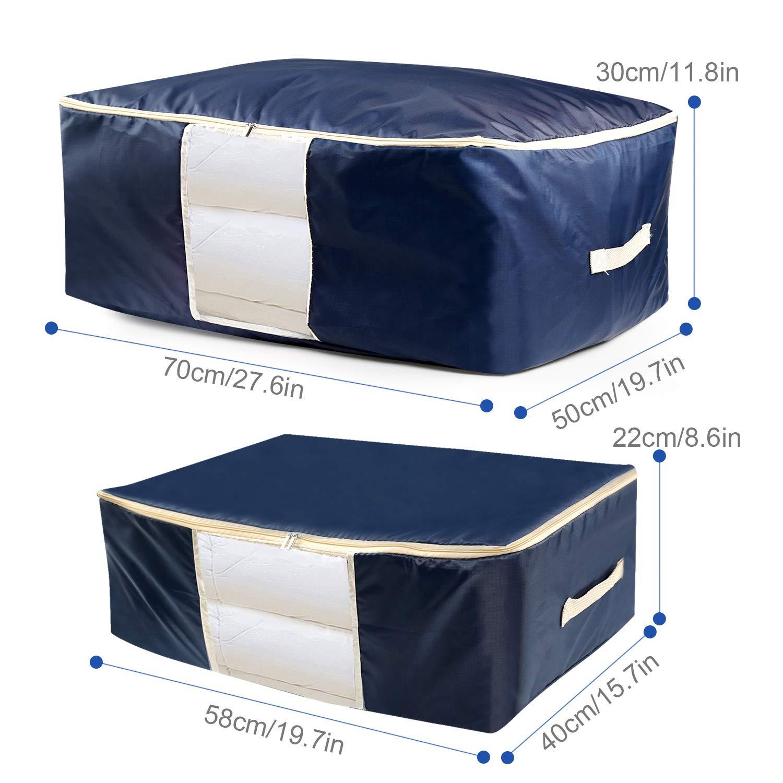 2 unidades Organizador plegable para colchas Gute Lines ropa de almacenamiento mantas