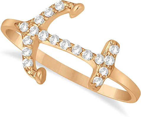 JewelsForum Drop Diamond Earrings in 14Kt Yellow Gold 0.16 Carat TCW 8 Round Cut Diamonds HI Clarity I I2