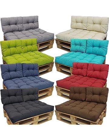 Cojines Lounge II para europalé de proheim - Cojines en diferentes tamaños para sofás-palés