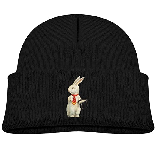 552de9608d055 Amazon.com  Banana King Easter Bunny Baby Beanie Hat Toddler Winter Warm  Knit Woolen Watch Cap for Kids Black  Clothing