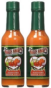Marie Sharp's Mild Habanero Pepper Sauce (Pack of 2)