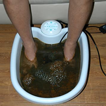 Amazon.com: Logisaf ION Ionic Detox Foot Bath Cleanse SPA with TUB ...