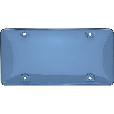 Cruiser Accessories 73400 Tuf Bubble Shield License Plate Shield/Cover, Blue: Automotive