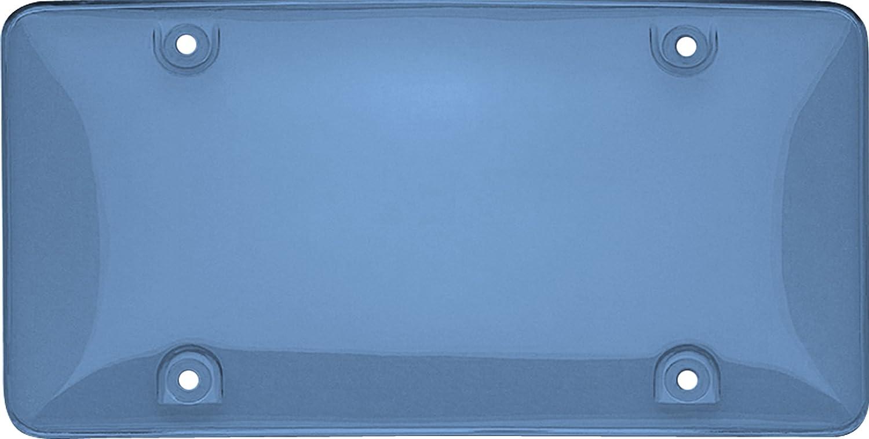 Cruiser Accessories 73400 Tuf Bubble Shield License Plate Shield/Cover, Blue KEYU1