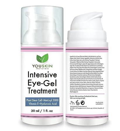 Crema De Ojos Para Ojeras, Bolsas Y Arrugas Con Ácido Hialurónico, Aceite De Jojoba