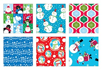premium christmas gift wrap bulk wrapping paper for men women boys girls