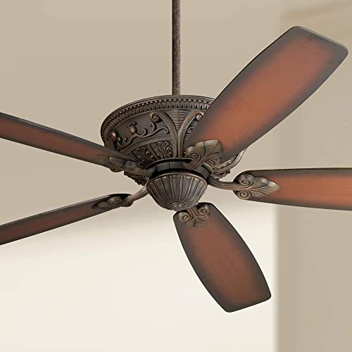 60″ Casa Montego Ceiling Fan Bronze Cherry Shaded