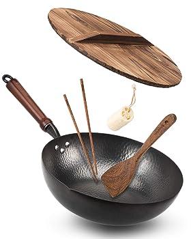 Bielmeier Traditional Carbon Steel Wok