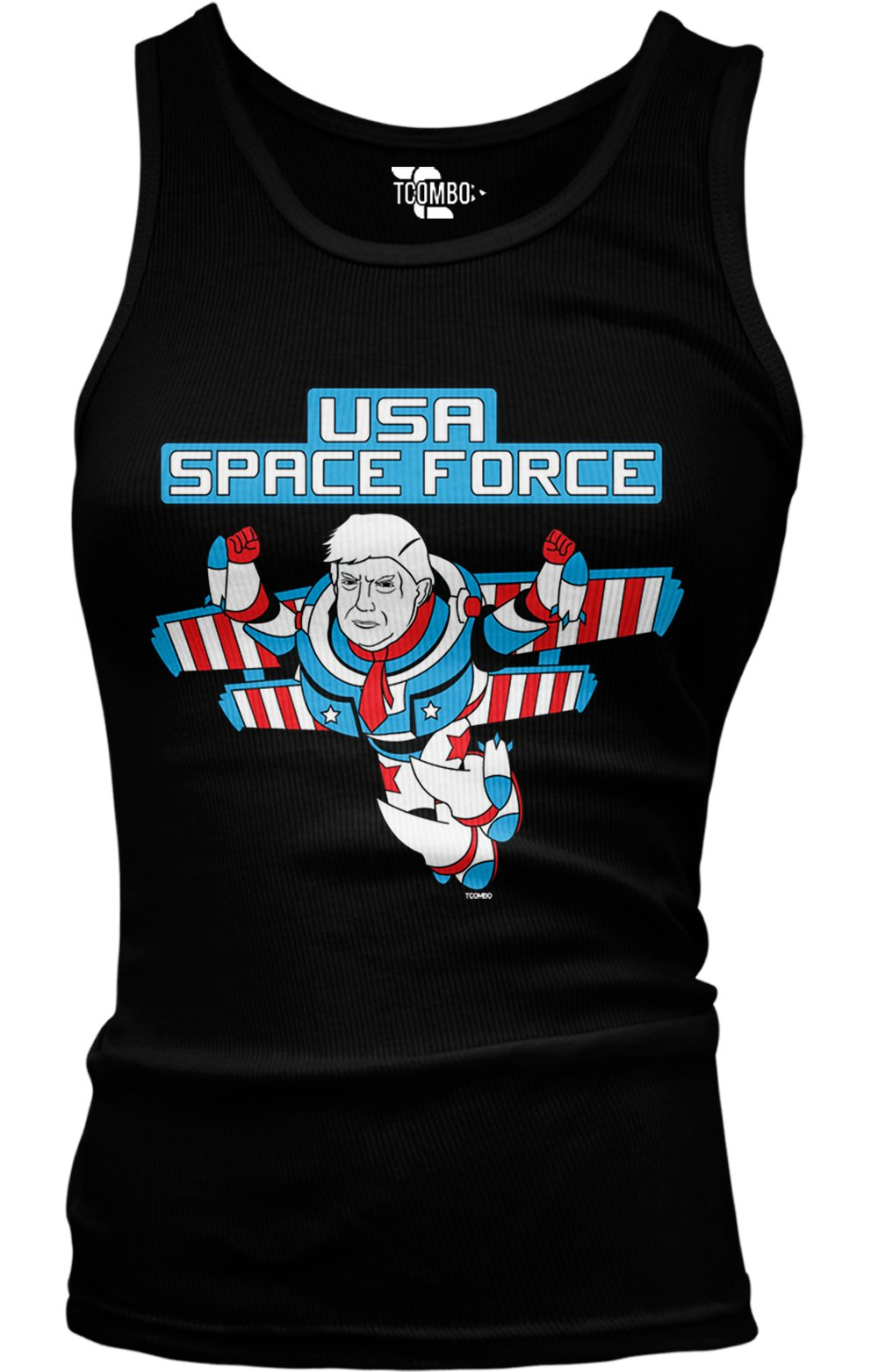 Trump Space Force Commander Tank Top 6971 Shirts