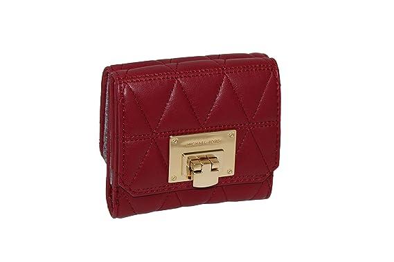 cc2b54e094e1 MICHAEL Michael Kors Women s Vivianne trifold coin ID case Small leather  Wallet ...