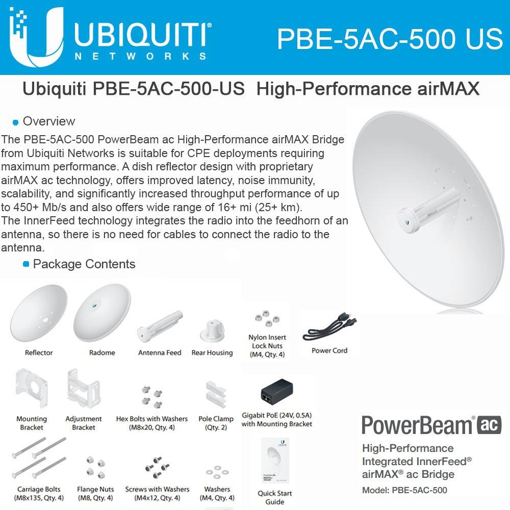 PowerBeam M5 500 AC by Ubiquiti Networks
