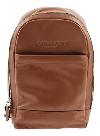 980785abf785 Amazon.com  Coach Men Charles Slim Backpack in Sport Calf Leather ...