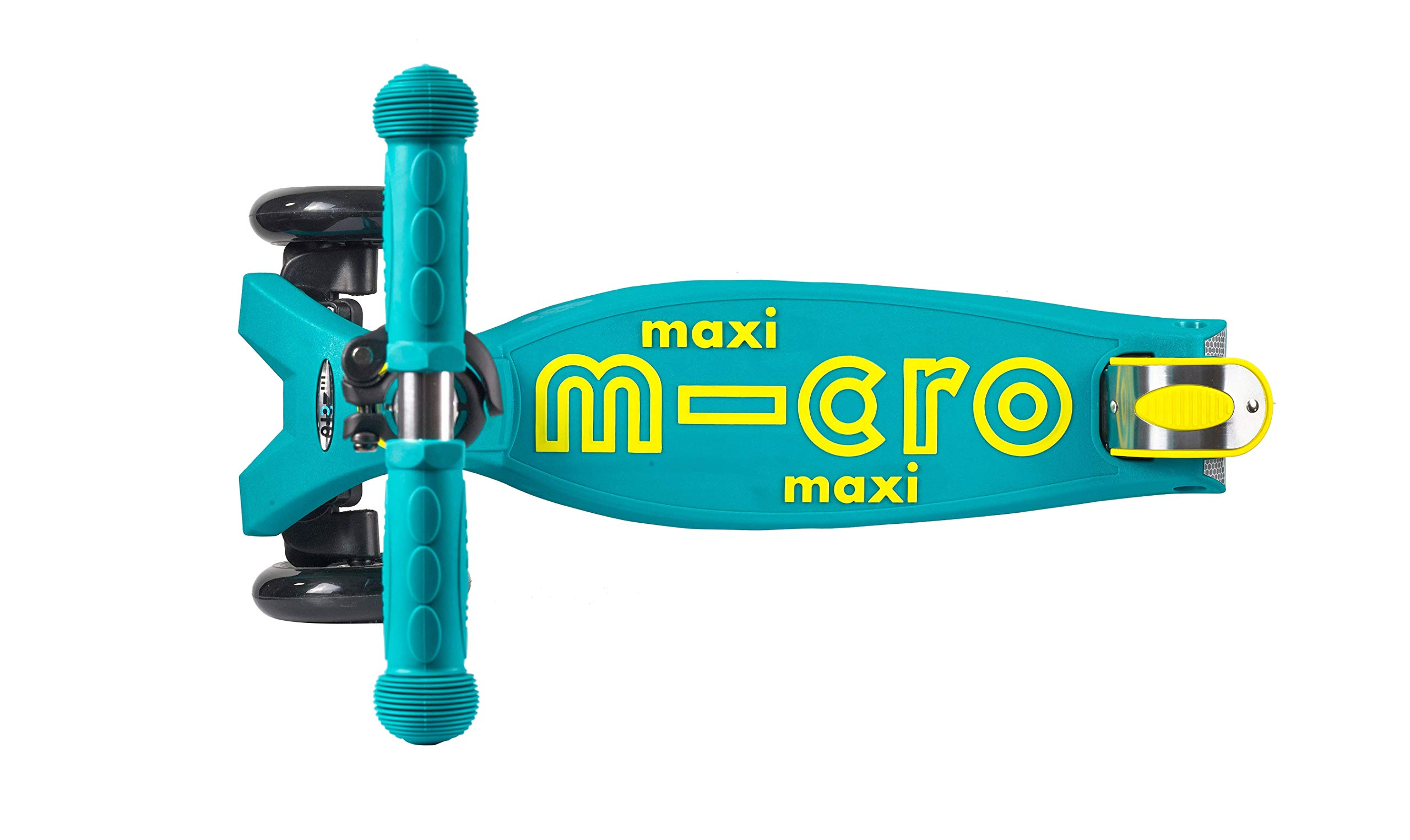 Micro Maxi Deluxe Kick Scooter - Foldable (Petrol Green)