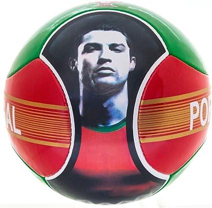 CR7 Balón de fútbol Cristiano Ronaldo Portugal 6 Paneles Rojo ...