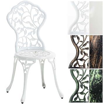 CLP Chaise de Jardin en Fonte d\'Aluminium Goyal - Chaise de ...