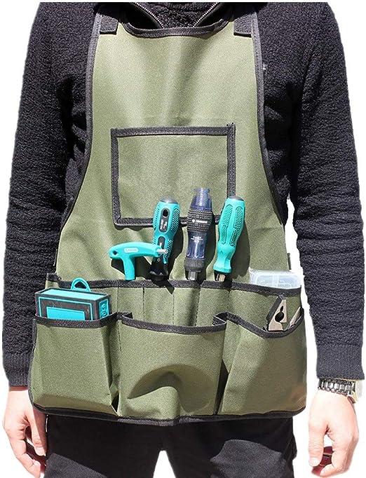 Zgsjbmh Saco de jardín Bolsa de Guardapolvos para jardín Kit de Utensilios para Mascotas Kit de Hardware para Delantal de construcción para el Trabajo Bolsas de Basura de jardín: Amazon.es: Hogar