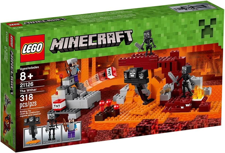 "Amazon.com: LEGO Minecraft, ""The Wither"", 21126 ..."
